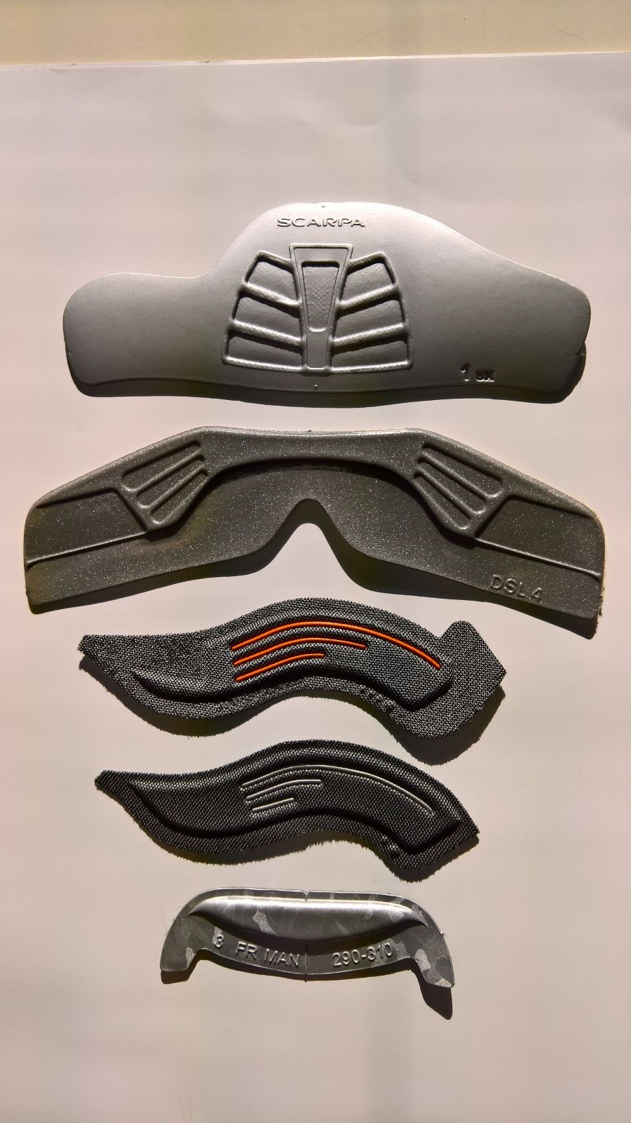 Termoformature scarponi da sci Teamform