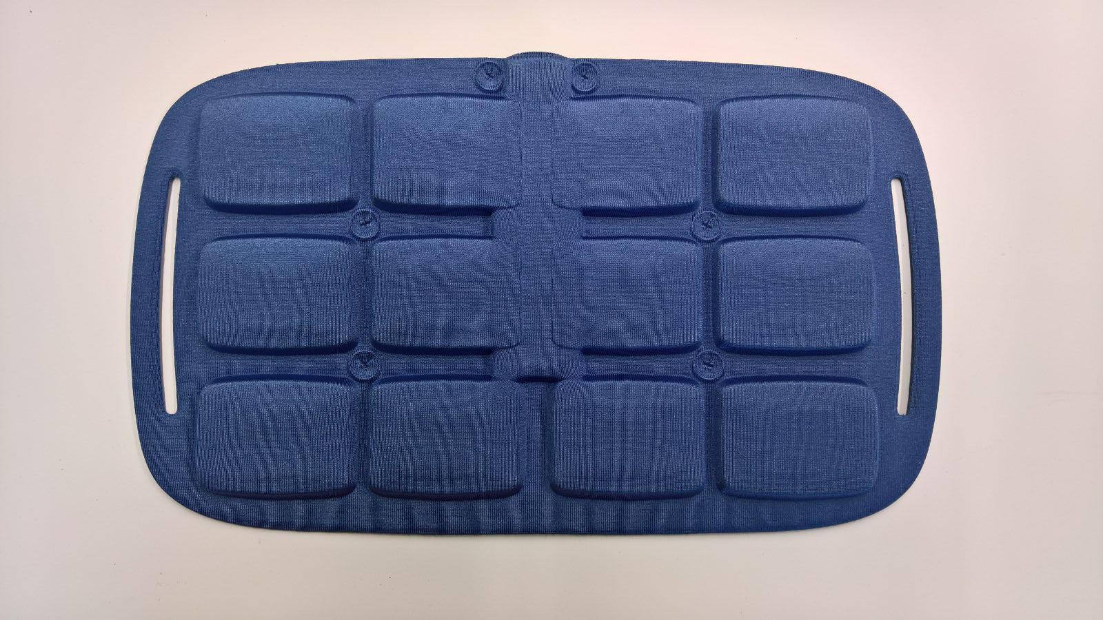 Cuscino termoformato per settore Medicale