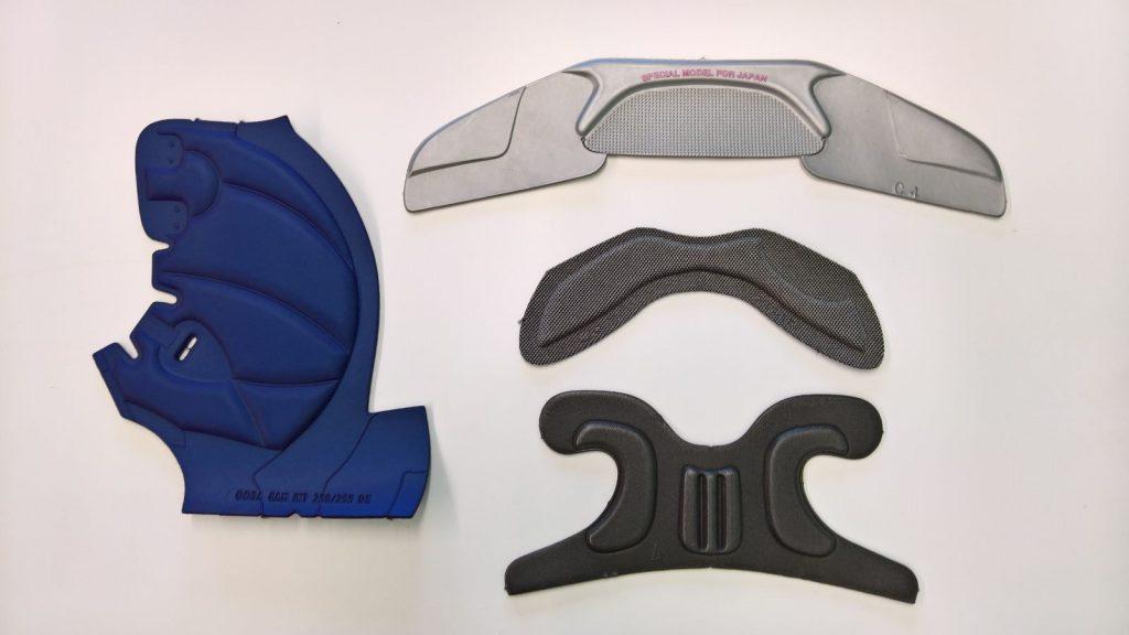 Componenti per Scarponi da sci,spoiler,gambetto,paraneve,imbottitura caviglie,lingue,scarpette.
