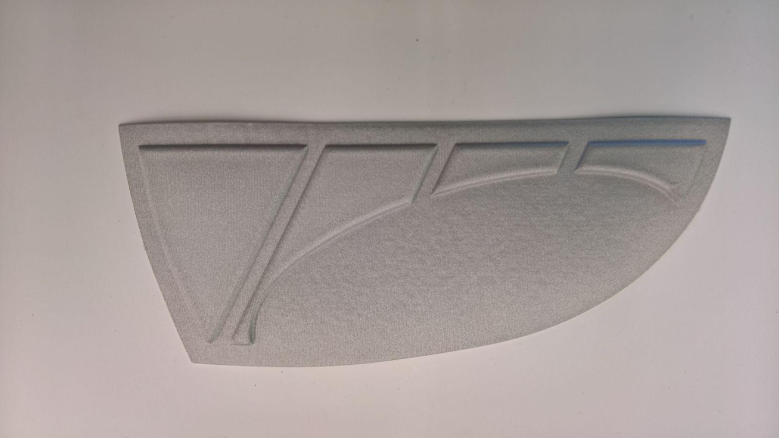 Imbottitura laterale per Pantaloni Motocross termoformata